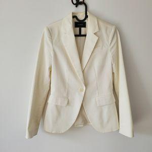 White blazer jacket from Le Château